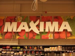 Reklamos gamyba Maxima raidės