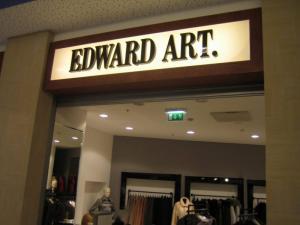 Reklamos gamyba Edward Art. raidės